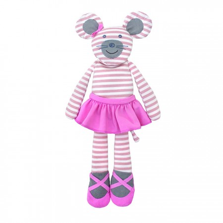 Farm Buddies Plush Doll - Ballerina Mouse