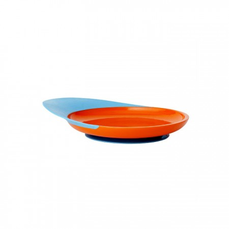 Boon Catch Plate - Blue/Orange