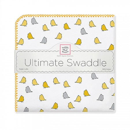 Ultimate Swaddle Blanket - Little Chickies