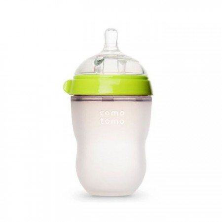 Comotomo Silicone Baby Bottle 8oz - Green