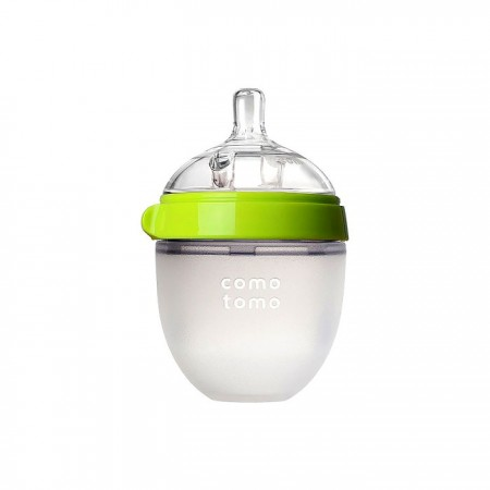 Comotomo Silicone Baby Bottle 5oz - Green