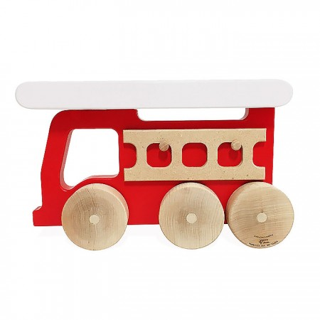 Manny and Simon Fire Truck Push Toy