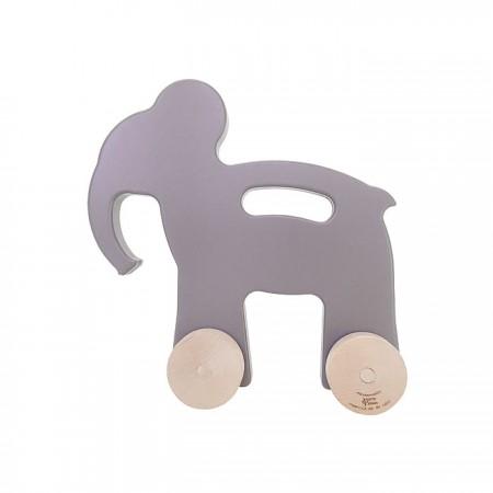 Manny and Simon Elephant Push Toy